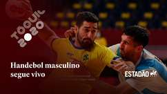 Brasil vence Argentina no handebol masculino