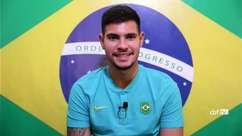 """SELEÇÃO MASCULINA: Bruno Guimarães comenta sobre pressão pra ganhar o título: """"A gente carrega o peso de deixar o ouro em casa"""""""