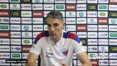 """FORTALEZA: Vojvoda reconhece 'sofrimento' na vitória sobre o CRB mas garante: """"O jogo sempre esteve sob controle"""""""