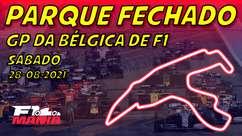 Parque Fechado: grid de largada da F1 para o GP da Bélgica