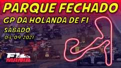 Parque Fechado: grid de largada da F1 para o GP da Holanda