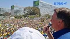 Em ato em Brasília, Bolsonaro faz discurso com ameaça ao Congresso e dá 'ultimato' ao STF