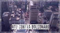 7 de setembro: veja como foi ato contra o governo Bolsonaro no Vale do Anhangabaú