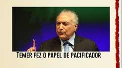 Bolsonaro dá chapéu em ministros e entrega a Temer papel de pacificador