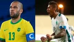 Daniel Alves e Paulinho estão livres no mercado: veja jogadores brasileiros sem clube