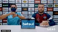 """FORTALEZA: Lucas Lima garante já estar adaptado ao estilo de Vojvoda: """"com minhas qualidades estou tentando me adequar a equipe"""""""