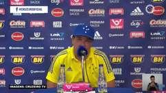"""CRUZEIRO: Luxemburgo reconhece dificuldade em alcançar o G4 após derrota em casa para o CSA: """"Precisamos ter calma para tomar as decisões acertadas"""""""