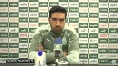 """PALMEIRAS: Abel Ferreira não 'joga a toalha' pelo Brasileiro e reconhece necessidade em trabalhar o psicológico da equipe: """"É um aspecto que temos que melhorar"""""""