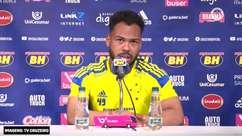 CRUZEIRO: Claudinho diz que time precisa ficar 'ligado' os 90 minutos para evitar derrotas e ressalta confiança de Luxemburgo em seu futebol