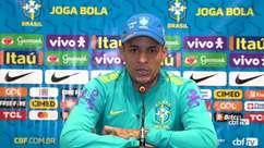 """SELEÇÃO: Guilherme Arana agradece oportunidade e ressalta confiança: """"Eu sabia que a oportunidade ia aparecer"""""""