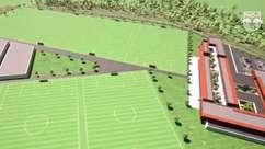 Red Bull Bragantino apresenta projeto do novo centro de treinamento com oito campos e mini estádio