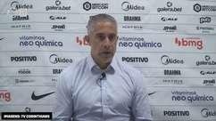 """CORINTHIANS: Sylvinho analisa derrota para o São Paulo e vê primeiros dez minutos como cruciais: """"custou bastante"""""""
