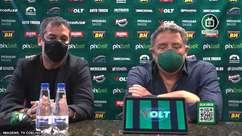 """AMÉRICA-MG: Marquinhos Santos manda recado para a torcida: """"Tenho certeza que teremos muito sucesso ao longo dessa caminhada"""""""