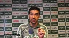 """PALMEIRAS: Abel Ferreira questiona decisões do VAR por anular gol de Breno e opina: """"Foi limpo"""""""