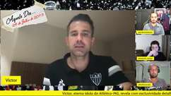 """ATLÉTICO-MG: Victor reconhece ansiedade em conquistar o Brasileiro, mas pede pés no chão até o final do campeonato: """"Não podemos cair no oba-oba"""""""