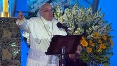 Papa incentiva jovens a saírem nas ruas para mundo melhor