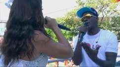 Ivete e Seu Jorge cantam música para motivar torcida para Copa