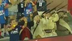 """Explosivo! Uruguaio comemora """"atirando"""" após marcar na MLS"""