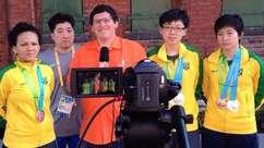 Musas, atletas e entrevistas: veja cobertura do Terra no Pan