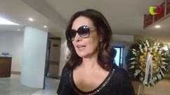 Fátima Bernardes fala sobre morte da amiga Sandra Moreyra