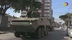 Vitória começa a recuperar normalidade com Exército nas ruas