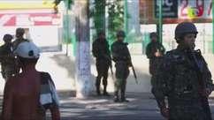 Forças Armadas patrulham ruas do Rio com 9 mil militares