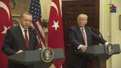 Erdogan diz que nunca aceitará que EUA armem milícias curdas