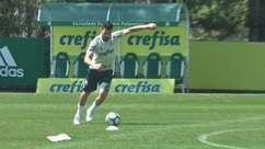 Bruno Henrique e Hyoran brilham em treino de faltas no Palmeiras