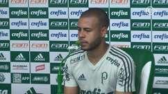 Mayke quer aproveitar bom momento para se firmar no Palmeiras