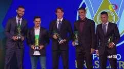 CBF premia em festa os melhores jogadores do Brasileirão