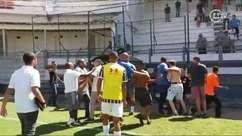 Clássico entre Fluminense e Vasco pelo Carioca Sub-20 termina em confusão