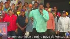 Maduro desafia críticas externas e faz oferta a eleitores