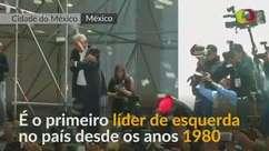 Mexicanos comemoram após López Obrador vencer eleição