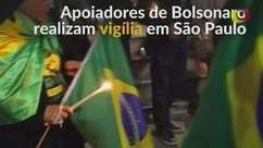 Apoiadores fazem vigília por Bolsonaro após ataque com faca