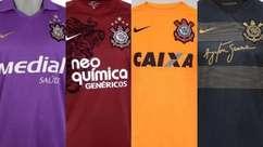 Relembre as camisas 3 do Corinthians desde 2008