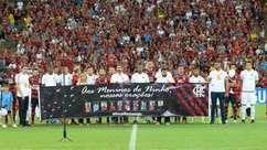 Maracanã vive noite de homenagens aos Garotos do Ninho do Urubu