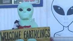 Vilarejo se prepara para caçadores de alienígenas na Área 51