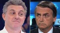 "Bolsonaro detona candidatura de Huck: ""Pau mandado da Globo"""