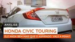Honda Civic 1.5 turbo é um devorador de estrada