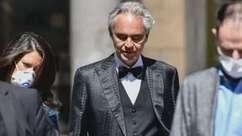 """Bocelli se sentiu """"humilhado e ofendido"""" por lockdown"""