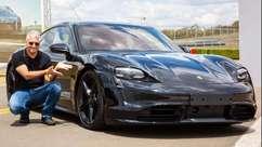 Porsche Taycan, o carro elétrico que é uma obra-prima