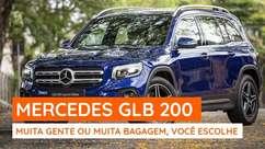 Mercedes GLB 200, um SUV de 7 lugares com motor 1.3