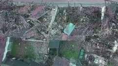 Drone captura destruição após terremotos na Croácia