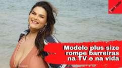Plus size Mayara Russi fala de gordofobia e atuação na TV
