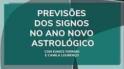 Previsões dos signos no ano novo astrológico