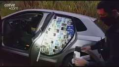 PRF apreende carga de cigarros em carro clonado