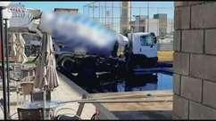 Caminhão ainda não foi retirado de piscina em Cascavel