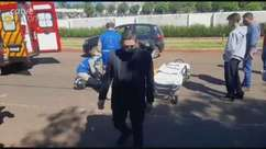 Motociclista fica ferido em acidente no Bairro São Cristovão