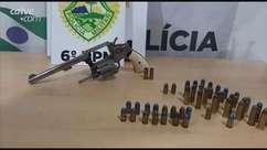 Homem é detido com arma e munições no Bairro Colmeia