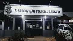 Casal é detido pela Polícia Militar no Centro de Cascavel